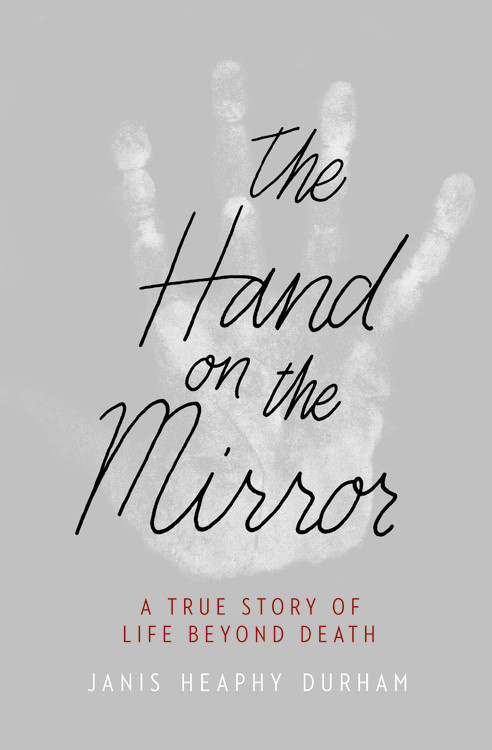hand on the mirror